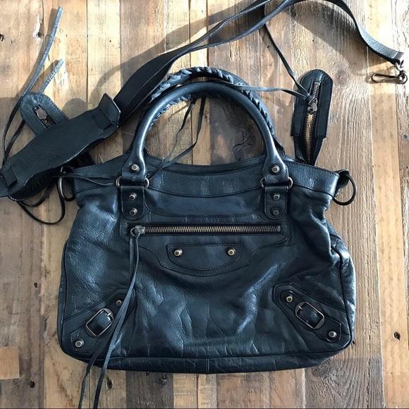 744d76fb6b Balenciaga Handbags - Balenciaga City Town